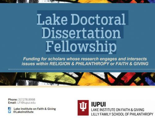 The Lake Institute Doctoral Dissertation Fellowship
